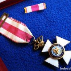 Militaria: MEDALLA Y PASADOR CRUZ CONSTANCIA REAL ORDEN SAN HERMENEGILDO. TRANSICIÓN. Lote 177673664