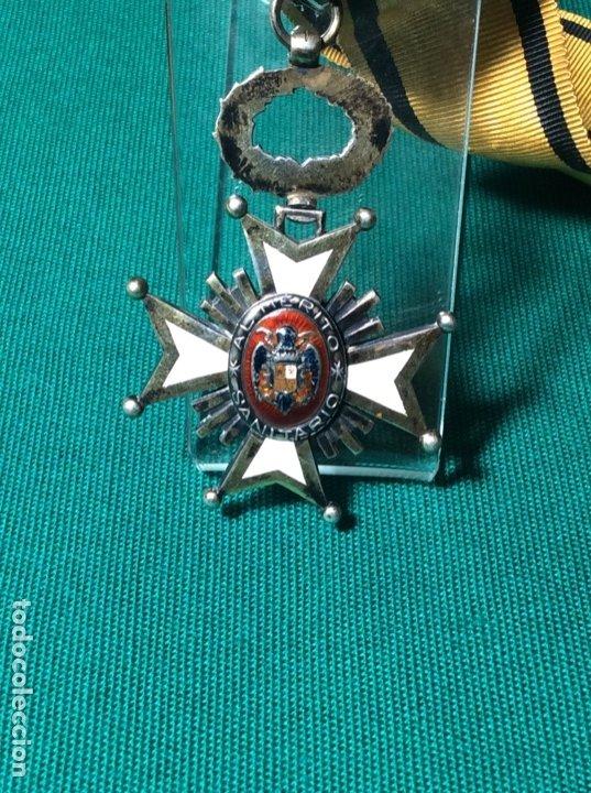 CRUZ MÉRITO ( MÉDICOS MILITARES ) ÉPOCA GUERRA CIVIL (Militar - Medallas Españolas Originales )
