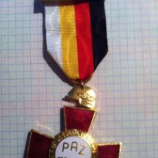 Militaria: 25 AÑOS DE PAZ - TRES PIEZAS - MUY BIEN CONSERVADA. Lote 177822015