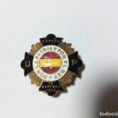 Militaria: INSIGNIA CALLISTA ESMALTADA - CATALOGADA , CON MARCAJE . Lote 177935475