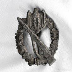 Militaria: PLACA DE ASALTO DE INFANTERÍA. VERSIÓN PLATA. INFANTERIE STURMABZEICHEN. MARCAJES S.H.UCO 41- SOHN. Lote 178099485