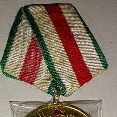 Militaria: MEDALLA ORIGINAL DE VETERANO DE GUERRA DE LA WWII EJERCITO DE BULGARIA - 25 ANIVº DE LA LIBERACION. Lote 178120378