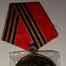 Militaria: MEDALLA ORIGINAL SOVIETICA DE VETERANO DE GUERRA DE LA WWII DEL EJERCITO RUSO / ROJO / SOVIETICO. Lote 178120952