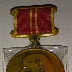 Militaria: MEDALLA MILITAR RUSA AL TRABAJO REALIZADO WWII - CENTENARIO DEL NACIMIENTO DE LENIN 1870-1970. Lote 178125378