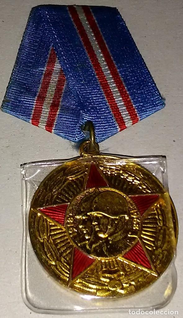 MEDALLA ORIGINAL RUSA / CCCP - 50 ANIVº DE LA REVOLUCIÓN RUSA 1918-1968 (Militar - Medallas Internacionales Originales)