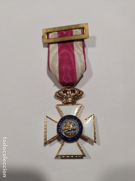 MEDALLA CRUZ MILITAR A LA CONSTANCIA MILITAR DE FERNANDO VII (Militar - Medallas Españolas Originales )