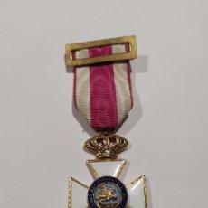 Militaria: MEDALLA CRUZ MILITAR A LA CONSTANCIA MILITAR DE FERNANDO VII. Lote 178143442