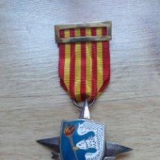 Militaria: ANTIGUA MEDALLA PLATA SERVICIOS AL SEM - SEU - FALANGE - SERVICIO ESPAÑOL MAGISTERIO - EPOCA FRANCO. Lote 111501563