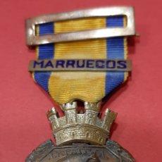 Militaria: MEDALLA, LA PATRIA AL EJÉRCITO EN CAMPAÑA, PASADOR DE MARRUECOS. REPÚBLICA.. Lote 178190577