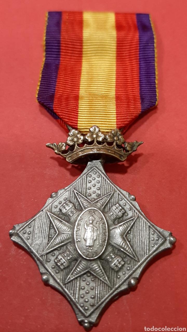Militaria: LOTE DE 6 MEDALLAS CONMEMORATIVAS ORIGINALES. - Foto 7 - 178223230