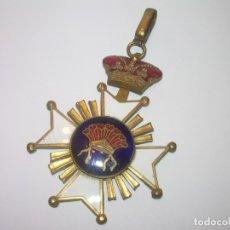 Militaria: ANTIGUA MEDALLA ESMALTADA.. Lote 178330190
