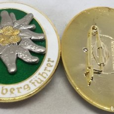 Militaria: RÉPLICA MEDALLA HEERESBERGFÜHRER. GUÍAS DE MONTAÑA. EDELWEISS. ALEMANIA. II GUERRA MUNDIAL. 1936-45. Lote 270698558