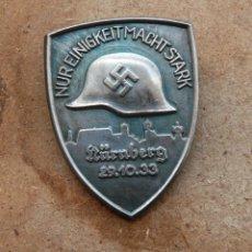 Militaria: INSIGNIA PIN NAZI . TERCER REICH.. Lote 178604490