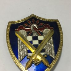 Militaria: BROCHE INSIGNIA DE LA FALANGE ESMALTADA GRANDE 6X5CM PARA COLECCIONISTAS. Lote 178652476