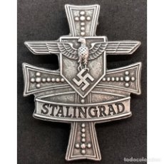Militaria: CRUZ DE STALINGRADO CATEGORÍA PLATA. Lote 211631161
