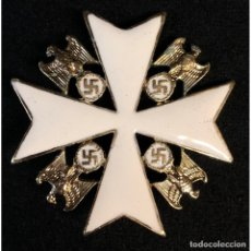 Militaria: ORDEN DEL AGUILA ALEMANA DE SEGUNDA CLASE SIN ESPADAS. Lote 221436530