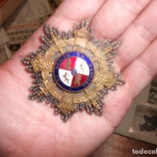 Militaria: PLATA MEDALLA PLACA ORDEN SAN HERMENEGILDO - GUERRA CIVIL CAPITAN DE ARTILLERIA AL MERITO EN CAMPAÑA. Lote 178691268
