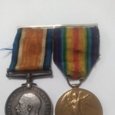 Militaria: ANTIGUAS MEDALLAS MILITARES INGLATERRA - GEORGIVS / THE GREAT WAR - 1914/1918 - 1914/1919. Lote 178939997