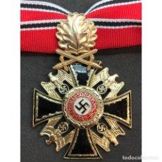 Militaria: MEDALLA ORDEN ALEMANA DEL NSDAP SEGUNDA CLASE HOJAS DE ROBLE. Lote 212949823
