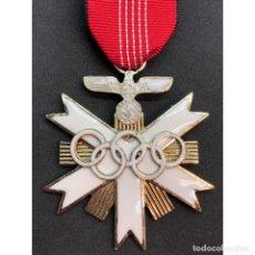 Militaria: MEDALLA JUEGO OLIMPICOS BERLIN 1936 SEGUNDA CLASE. Lote 179012562