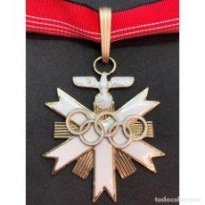 Militaria: MEDALLA JUEGO OLIMPICOS BERLIN 1936 PRIMERA CLASE. Lote 179012736