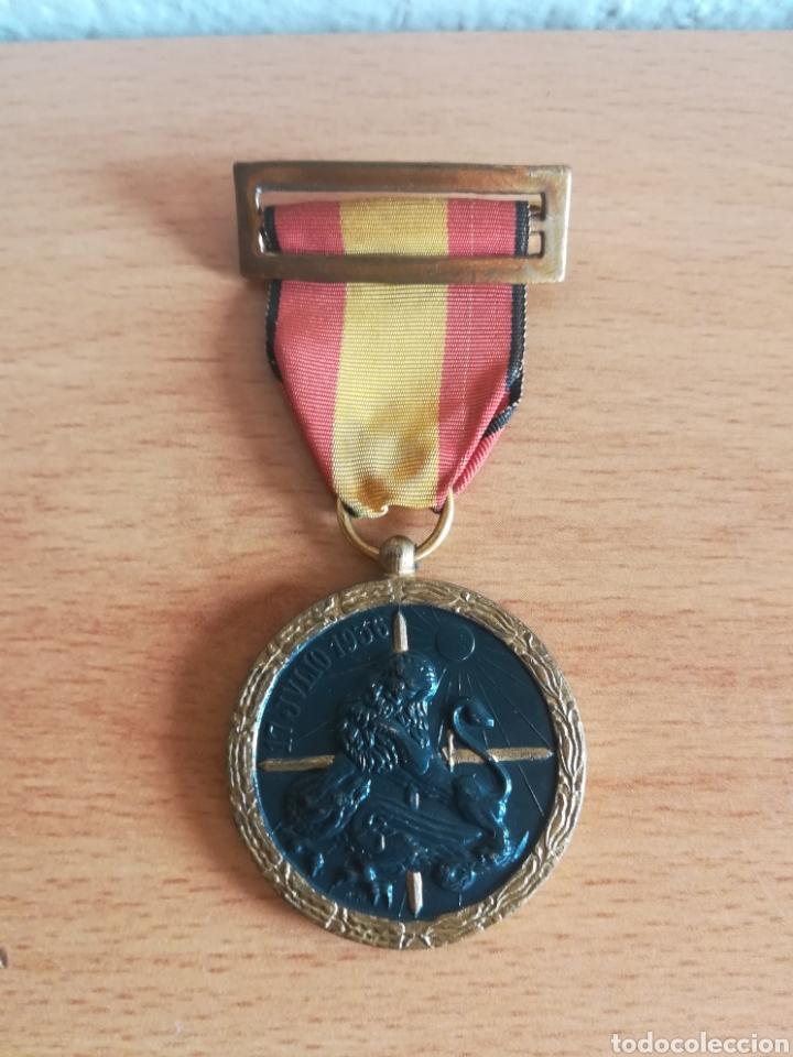 MEDALLA 17 JULIO 1936 - ARRIBA ESPAÑA (Militar - Medallas Españolas Originales )