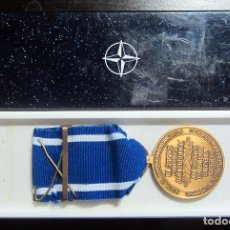 Militaria: MEDALLA OTAN FORMER YUGOSLAVIA IN SERVICS OF PEACE AND FREEDOM. Lote 179090281