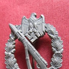 Militaria: MEDALLA ALEMANA DISTINTIVO INSIGNIA ASALTO DE INFANTERÍA II SEGUNDA GUERRA MUNDIAL III REICH ALEMÁN. Lote 179096498