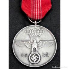 Militaria: MEDALLA CONMEMORATIVA DE LOS JUEGOS OLIMPICOS DE 1936 ALEMANIA NAZI TERCER REICH. Lote 227453275