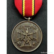 Militaria: MEDALLA DE GUERRA 1939 1940 ALEMANIA NAZI TERCER REICH. Lote 179189116