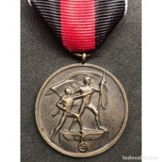 Militaria: MEDALLA POR LA ANEXION DE LOS SUDETES 1938 ALEMANIA NAZI TERCER REICH. Lote 179189823