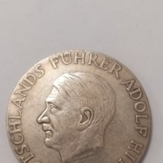 Militaria: COPIA - MONEDA MEDALLA ALEMANIA GUERRA NAZI MILITAR REICH HITLER 1933 - MIDE 40 MM DIAMETRO. Lote 179239603
