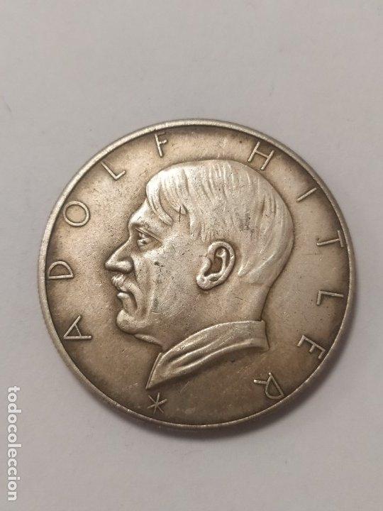 COPIA - MONEDA MEDALLA ALEMANIA GUERRA NAZI MILITAR REICH HITLER - MIDE 34 MM DIAMETRO (Militar - Reproducciones y Réplicas de Medallas )