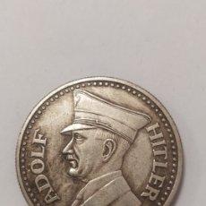Militaria: COPIA - MONEDA MEDALLA ALEMANIA GUERRA NAZI MILITAR REICH HITLER 1945 - MIDE 36 MM DIAMETRO. Lote 179241032