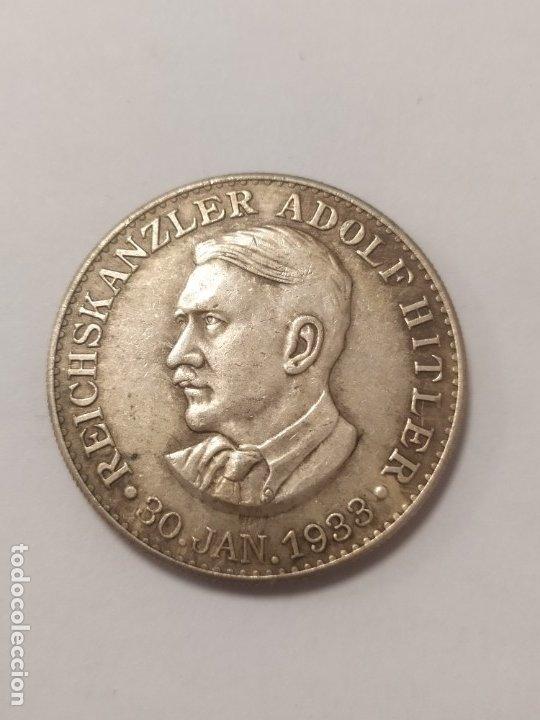 COPIA - MONEDA MEDALLA ALEMANIA GUERRA NAZI MILITAR REICH HITLER 1933 - MIDE 34 MM DIAMETRO (Militar - Reproducciones y Réplicas de Medallas )