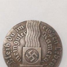 Militaria: COPIA - MONEDA MEDALLA ALEMANIA GUERRA NAZI MILITAR REICH HITLER 1933 - MIDE 40 MM DIAMETRO. Lote 179245755
