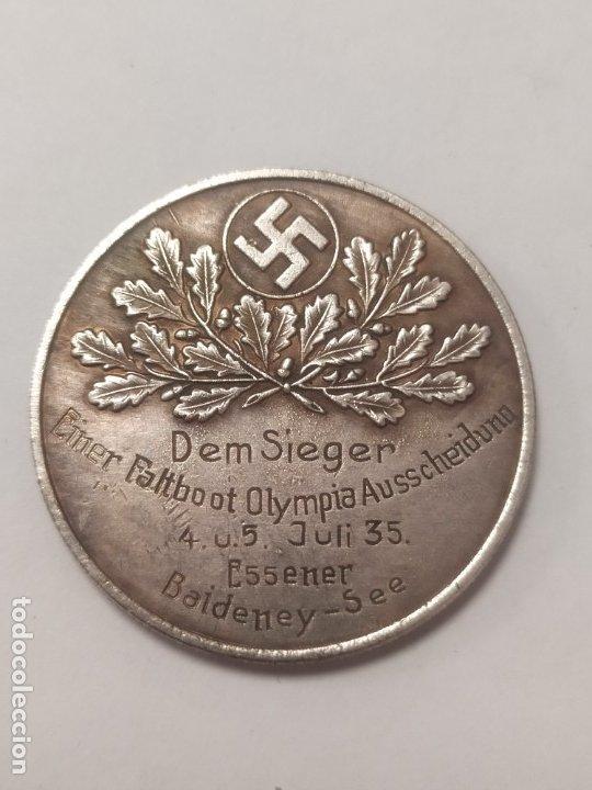 COPIA - MONEDA MEDALLA ALEMANIA GUERRA NAZI MILITAR REICH HITLER 1935 - MIDE 36 MM DIAMETRO (Militar - Reproducciones y Réplicas de Medallas )