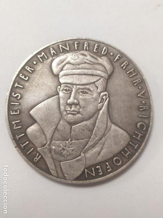 Militaria: COPIA - MONEDA MEDALLA ALEMANIA GUERRA NAZI MILITAR REICH HITLER 1918 - MIDE 36 mm DIAMETRO - Foto 2 - 179245895
