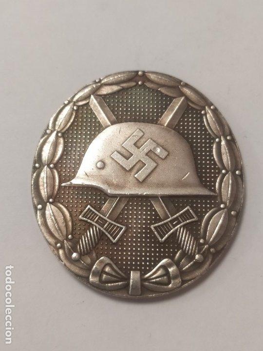 COPIA - MONEDA MEDALLA ALEMANIA GUERRA NAZI MILITAR REICH HITLER - MIDE 42 X 38 MM (Militar - Reproducciones y Réplicas de Medallas )