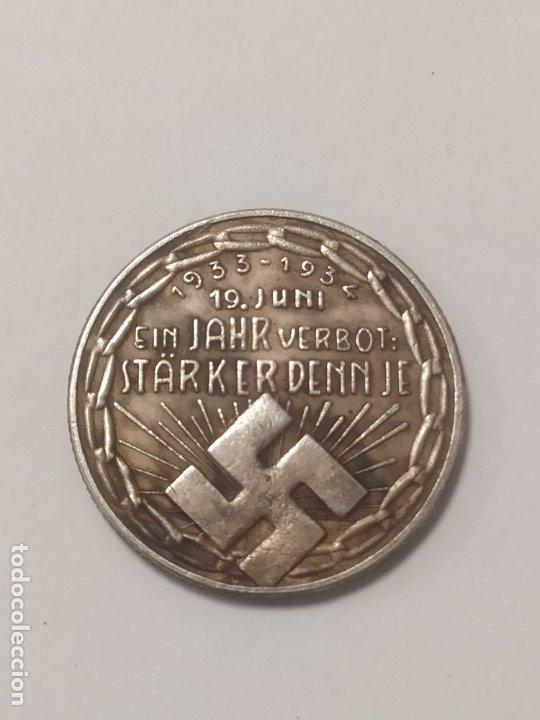 COPIA - MONEDA MEDALLA ALEMANIA GUERRA NAZI MILITAR REICH HITLER 1934 - MIDE 23.5 MM DIAMETRO (Militar - Reproducciones y Réplicas de Medallas )
