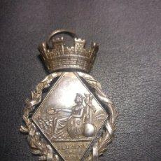 Militaria: MEDALLA CAMPAÑA CUBA 1 REPUBLICA 1873. PLATA. Lote 179520252
