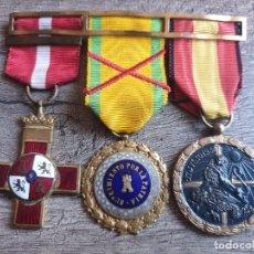 Militaria: PASADOR MEDALLAS GUERRA CIVIL. Lote 179955097