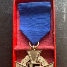 Militaria: MEDALLA ALEMANA ORIGINAL 25 AÑOS SERVICIO. Lote 180006892