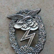 Militaria: PLACA LUFWAFFE COMBATE TIERRA. ALEMANIA. 2ª GUERRA MUNDIAL. 1939-1945 . Lote 180018268
