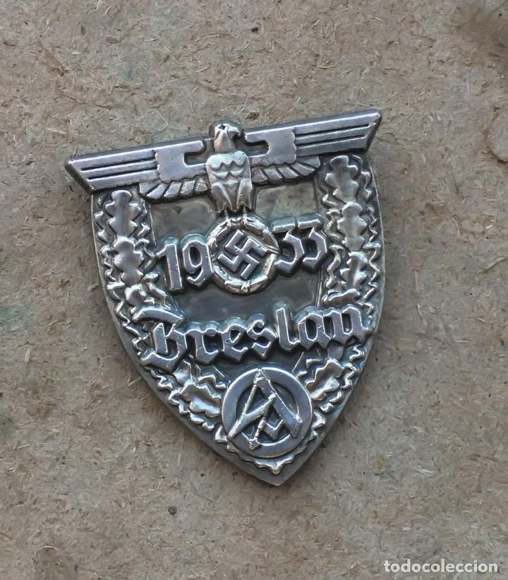 INSIGNIA PIN NAZ.I BRESLAU . TERCER REICH. (Militar - Reproducciones y Réplicas de Medallas )
