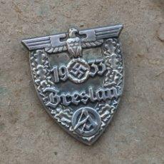 Militaria: INSIGNIA PIN NAZ.I BRESLAU . TERCER REICH.. Lote 180020240