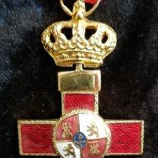 Militaria: MEDALLA MILITAR ESPAÑOLA AL MERITO. EPOCA JUAN CARLOS. Lote 180081181