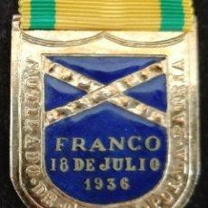 Militaria: MEDALLA MUTILADO DE GUERRA. GUERRA CIVIL. Lote 180083890