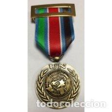 Militaria: MEDALLA DE LA ONU UNPROFOR INCLUYE CAJA. Lote 180095551