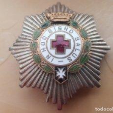 Militaria: PLACA CRUZ ROJA ÉPOCA DE FRANCO . Lote 180104811